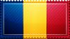 Romania Flag Stamp by ChokorettoMilku