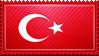 Turkey Flag Stamp by ChokorettoMilku