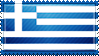 Greece Flag Stamp by ChokorettoMilku