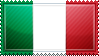 Italy Flag Stamp by ChokorettoMilku