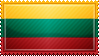 Lithuania Flag Stamp by ChokorettoMilku