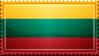 Lithuania Flag Stamp by ChokorettoMilku