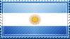 Argentina Flag Stamp by ChokorettoMilku