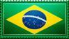 Brazil Flag Stamp