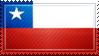 Chile Flag Stamp by ChokorettoMilku