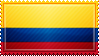Colombia Flag Stamp by ChokorettoMilku