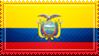 Ecuador Flag Stamp by ChokorettoMilku