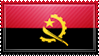 Angola Flag Stamp by ChokorettoMilku