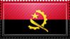 Angola Flag Stamp by ChokorettoMilku
