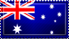 Australia Flag Stamp by ChokorettoMilku