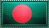 Bangladesh Flag Stamp by ChokorettoMilku