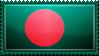 Bangladesh Flag Stamp by ChokorettoMilku