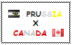.: Prussia x Canada Stamp by ChokorettoMilku