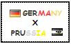 .: Germany x Prussia Stamp by ChokorettoMilku