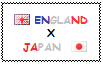 .: England x Japan Stamp by ChokorettoMilku