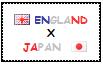 .: England x Japan Stamp by ChokorettoMilku