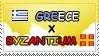.: Greece x Byzantium II Stamp by ChokorettoMilku