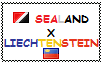 .: Sealand x Liechtenstein Stamp by ChokorettoMilku