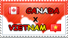.: Canada x Vietnam II Stamp by ChokorettoMilku
