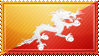 Bhutan Flag Stamp by ChokorettoMilku