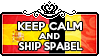 Keep Calm and Ship SpaBel by ChokorettoMilku