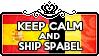 Keep Calm and Ship SpaBel by ChokorettoMilku