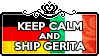 Keep Calm and Ship GerIta by ChokorettoMilku