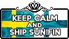Keep Calm and Ship SuN!Fin by ChokorettoMilku