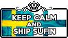 Keep Calm and Ship SuFin by ChokorettoMilku