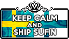 Keep Calm and Ship SuFin by ChokorettoMilku