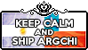 Keep Calm and Ship ArgChi by ChokorettoMilku