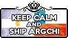 Keep Calm and Ship ArgChi by ChokorettoMilku