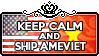 Keep Calm and Ship AmeViet by ChokorettoMilku
