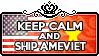 Keep Calm and Ship AmeViet by ChokorettoMilku