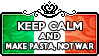 Keep Calm and Make Pasta Not War by ChokorettoMilku