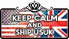 Keep Calm and Ship USUK by ChokorettoMilku