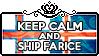 Keep Calm and Ship FarIce by ChokorettoMilku