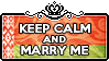 Keep Calm and Marry Me by ChokorettoMilku