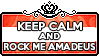 Keep Calm and Rock Me Amadeus by ChokorettoMilku