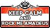 Keep Calm and Rock Me Amadeus by ChokorettoMilku