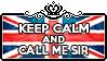 Keep calm and Call me Sir by ChokorettoMilku