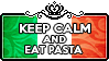 Keep Calm and Eat Pasta by ChokorettoMilku