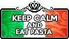 Keep Calm and Eat Pasta by ChokorettoMilku