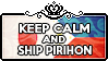 Keep Calm and Ship PiriHon by ChokorettoMilku
