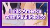 APH Confession: AmericaxMale!Mexico by ChokorettoMilku