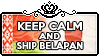 Keep Calm and ship BelaPan by ChokorettoMilku