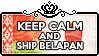 Keep Calm and ship BelaPan by ChokorettoMilku