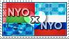 APH: Nyo!Belarus x Nyo!Russia Stamp by ChokorettoMilku