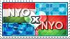 APH: Nyo!Hungary x Nyo!Belarus Stamp by ChokorettoMilku