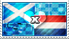 APH: Scotland x Netherlands Stamp by ChokorettoMilku
